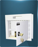 Wall-mounted documents safe